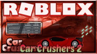 [NEW] ROBLOX HACK/SCRIPT ✅ CAR CRUSHERS 2 ✅ 😱 PARTS & MONEY AUTOFARM 😱[FREE] [Dec 31]