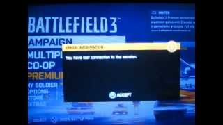 how to fix battlefield 3 conection problem for ps3
