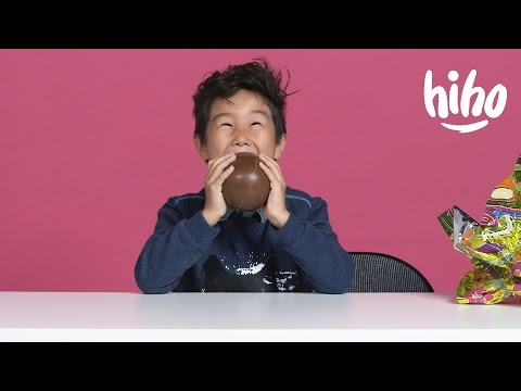 Kids Try MORE Easter Candy | Kids Try | HiHo Kids