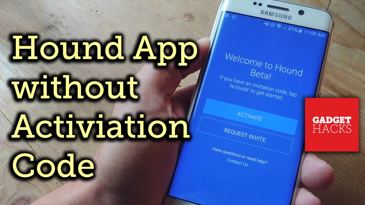 How to Use Hound on Android Without an Activation Code « Android