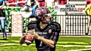 NCAA Football 15 - (XB360) -1080p HD - 21Texas A&M at 7Alabama   Kenny Shuffle