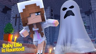 BABY ELLIE IS BACK & SHE IS HAUNTED!   Minecraft Little Kelly