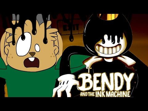 THE INK DEMON LOVES CHIPMUNK BOOTYMEAT | Bendy and the Ink Machine CHAPTER 2 ENDING