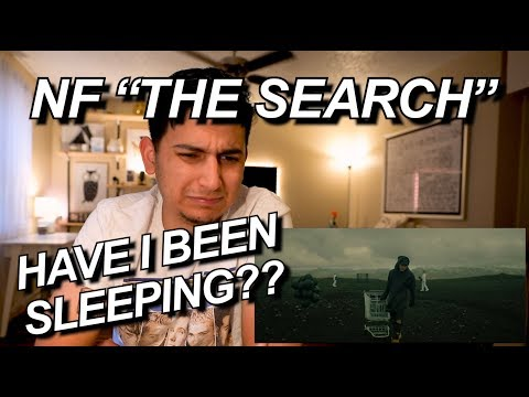 NF - THE SEARCH REACTION!!   IS IT WORTH THE HYPE???