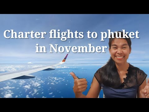 charter flights to Phuket in November