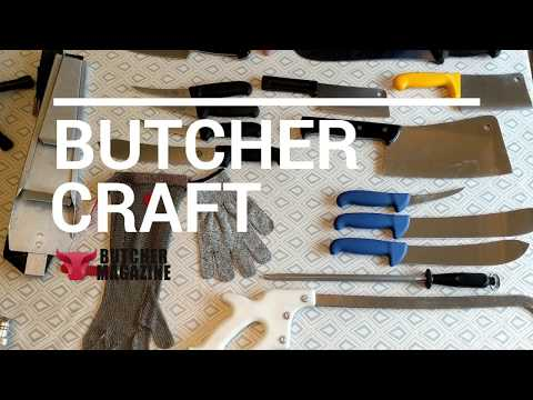 Butcher Craft: Essential Butcher Equipment - The Right Knives For The Job | Butcher Magazine