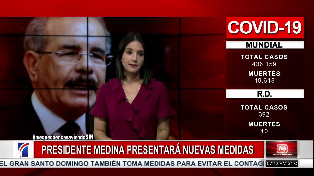 #NoticiasSIN: 10 muertos por coronavirus en RD
