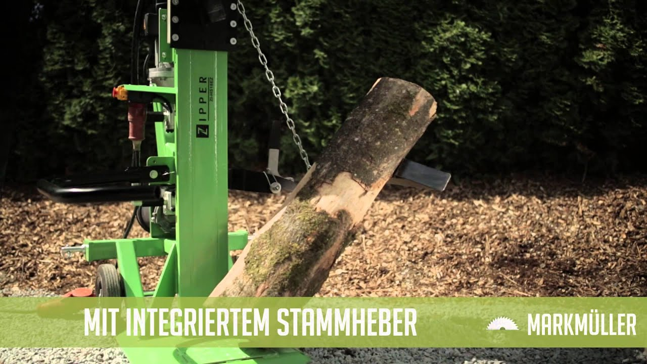Zipper 18 to holzspalter zi hs18ez youtube - Keuken header venster ...