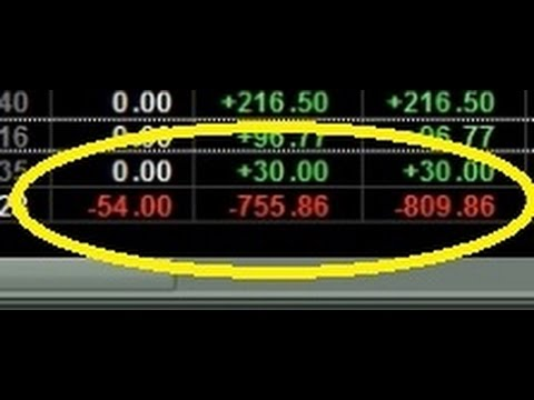 Friday January 15th, 2017 Live Day Trading Vlog - Recovering From a $800 Loss +460