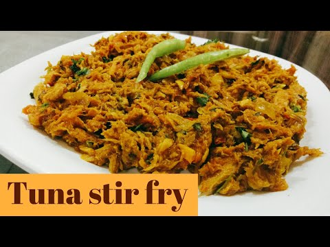 How To Make Tuna Fish Stir Fry | Canned Tuna Fish Recipe | Easy Tuna Masala | Fish Recipes