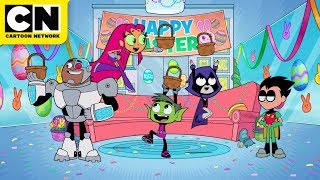 Teen Titans GO! | The Easter Bunny | Cartoon Network