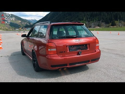 EPIC 766HP Audi RS4 B5 Antilag Sounds & Drag Racing!