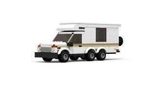 LEGO Vaz Niva Camper Tutorial