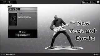 Fortnite- John Wick Rocking Out!!!( New Rock Out Emote)