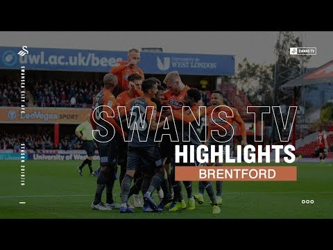 Highlights: Brentford 2 - 3 Swansea City