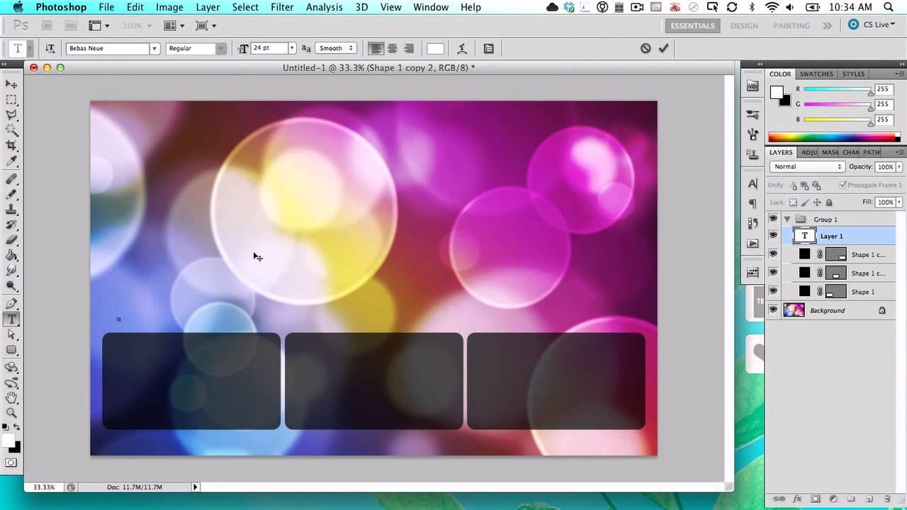 3 Steps to an Organized Desktop With Rainmeter