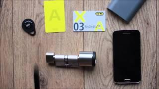 EVVA Airkey - der elektronische Schließzylinder aus dem Hause Evva(Evva Airkey der sogenannte Luftschlüssel ist ein elektronischer Schließzylinder mit NFC Technologie an Bord. Machen Sie ihr NFC fähiges Handy zum ..., 2015-05-29T20:16:40.000Z)