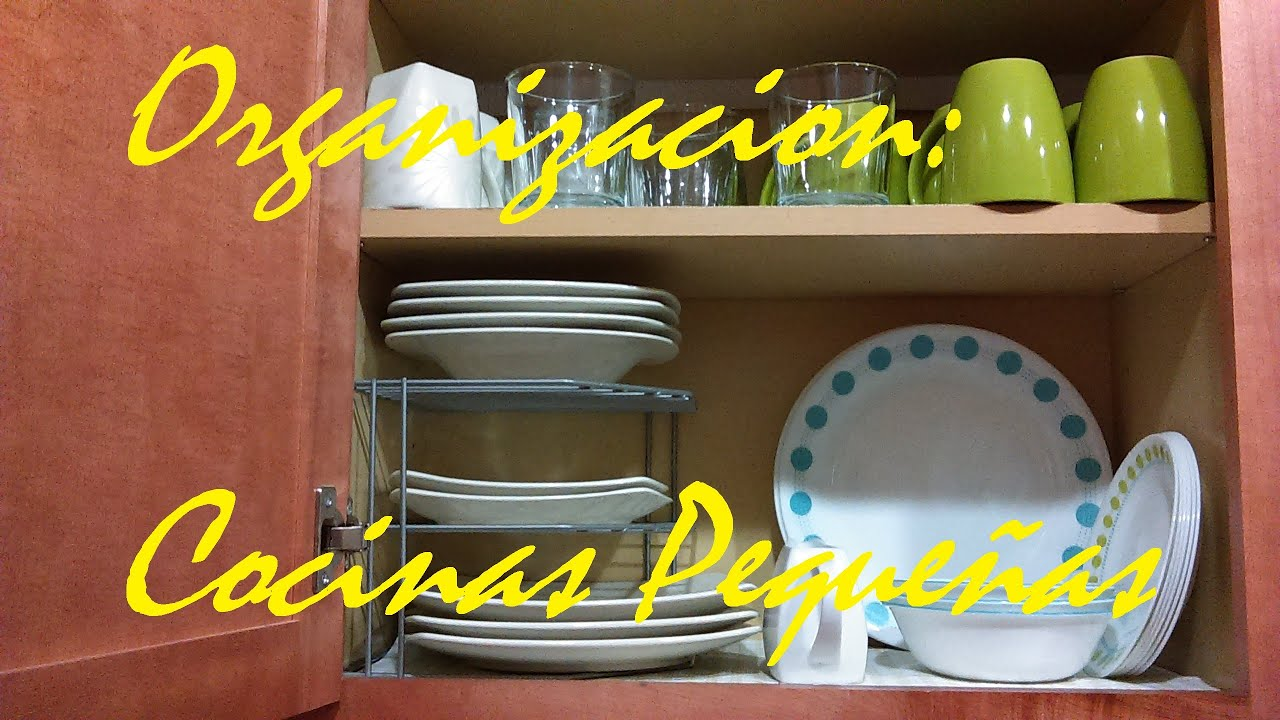 Hogar ideas para cocinas peque as misslizchannel youtube - Cocinas pequenas alargadas ...