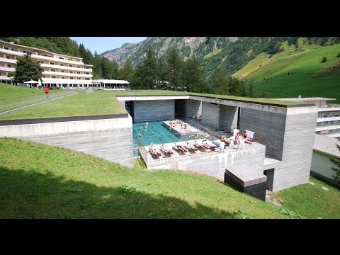 "Architecture. Peter Zumthor ""The Thermae of Stone"""