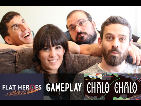 Flat Heroes y Chalo Chalo - Gameplay con amigos