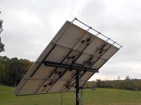 Solar Panel Pole Mount Part 4 Youtube
