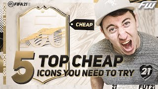 BEST CHEAP ICONS FIFA 21 - YOU NEED TO TRY THESE CARDS!
