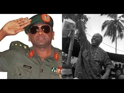 The activism of Ken Saro Wiwa and how the military government murdered him by hanging in 1995