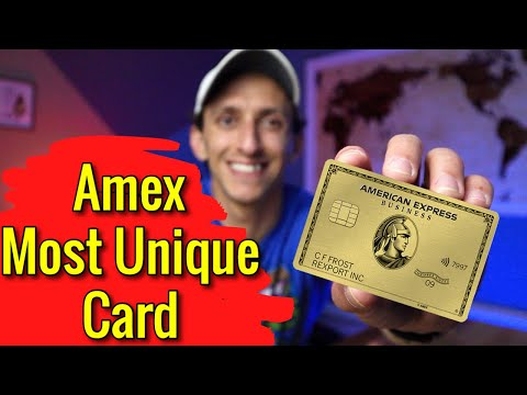 Amex Business Gold Card | American Express MOST UNIQUE Card