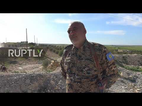 Syria: They are here 'for the Turks' - SDF soldiers at US 'base' in Manbij