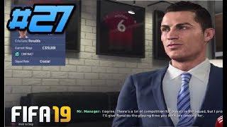 RONALDO TO RANGERS?! FIFA 19 RANGERS CAREER MODE EPISODE 27