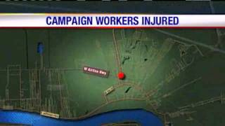 Campaign Workers Hit By Pickup Truck In St. John The Baptist Parish