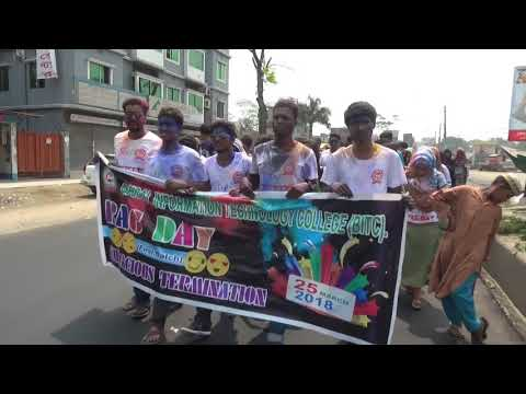 RAG DAY 2018  - Part - 1 [Barisal Information technology College] BITC BARISAL