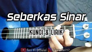 Nike Ardilla - Seberkas Sinar (Kunci & Lirik) cover kentrung ukulele by Feri Yt Official