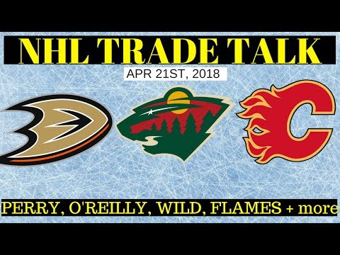 NHL Trade Rumours 2018 - Ducks, Wild, Sabres & Flames