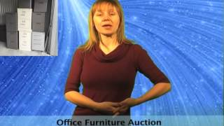 Designer Used Office Furniture Online Auction