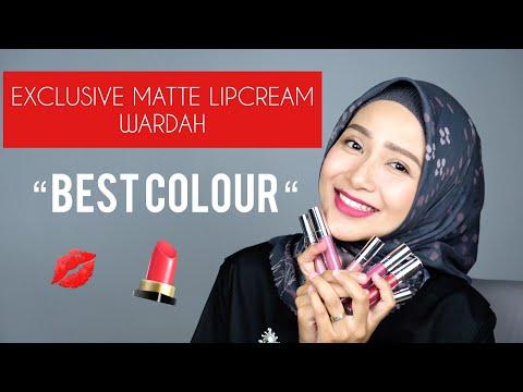 """wardah-exclusive-matte-lipcream-""""-best-colour-"""""""