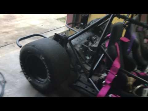 S13 Deathkart Plus Hoosier Drag Slicks Equals A Good Time
