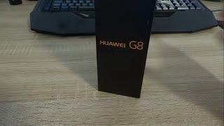 Розпакування смартфона Huawei G8 Сірий Графіт.