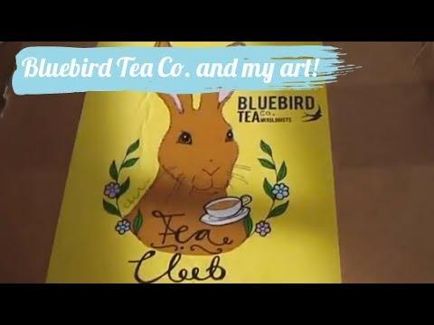 Bluebird Tea Co. My Art - Subs Box! (Unboxing)