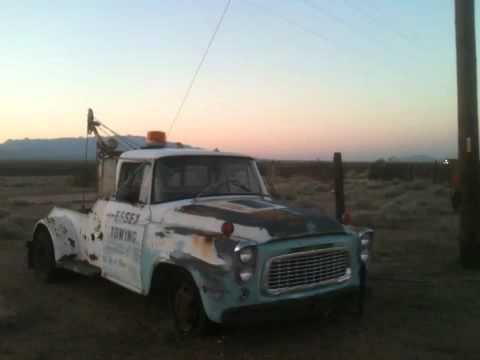 Helms Bakery Tow Truck Discovered on Old Route 66 (Mother Road) while searching for a Mater.