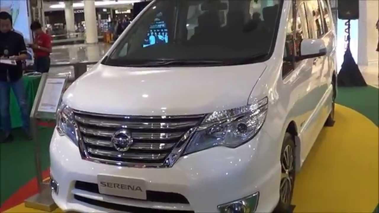 Nissan Serena SHybrid Facelift 2015 Short Take  YouTube