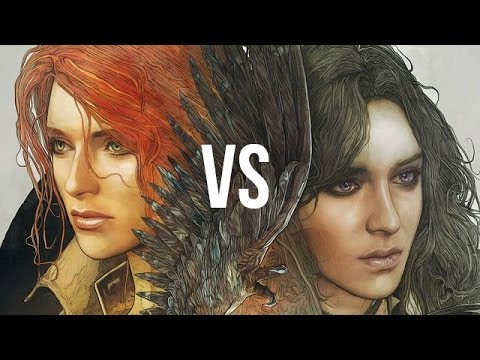 Yen vs Triss. Gamers