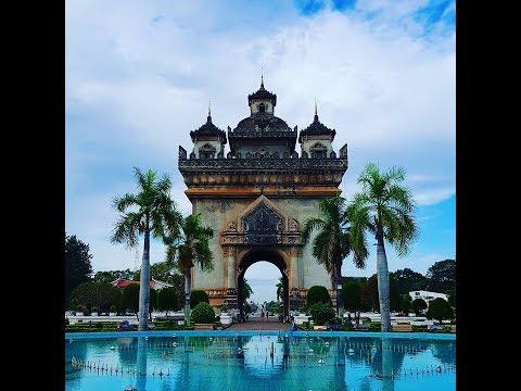 [라오스여행_Laos Travel] 라오스 수도 비엔티엔(Vientiane) 빠뚜싸이(Patuxai) 전경 구경해보세요~!