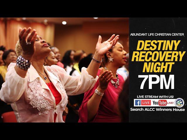 April Destiny Recovery Night   Drs. Festus & Anthonia Adeyeye   ALCC Winners House