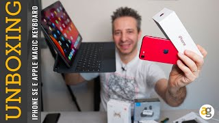 UNBOXING iPhone SE 2020, APPLE Magic Keyboard e NON SOLO!