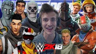 FORTNITE Royal Rumble WWE 2K18 Gameplay