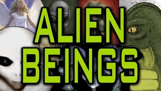 Alien Beings - Angels and Demons - Nordic, Reptilian, and Grey Aliens