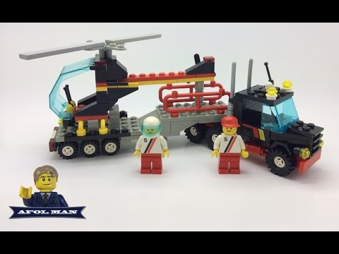 LEGO Vintage Town 6357 Stunt Copter N' Truck from 1988!