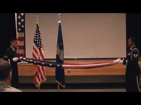 Air Force Retirement Ceremony of MSgt Chris Werley