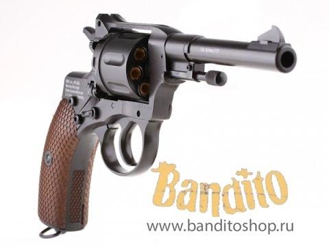 Пневматический револьвер Gletcher NGT R (Техническая часть) Купить .